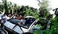 রোগী নিয়ে ফেরার পথে অ্যাম্বুলেন্সে সিলিন্ডার বিস্ফোরণ, নিহত ৩