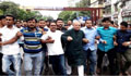 খালেদা জিয়ার মুক্তির দাবিতে রাজধানীতে বিএনপির বিক্ষোভ