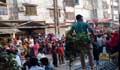 শেওড়াপাড়ায় গার্মেন্টস শ্রমিকদের সড়ক অবরোধ