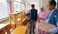 পটুয়াখালীর কলেজে নিম্নমানের এক বেঞ্চের দাম সাড়ে ১১ হাজার টাকা!