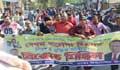খালেদা জিয়ার মুক্তির দাবিতে ঢাকার থানায় থানায় বিএনপির বিক্ষোভ
