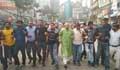 খালেদা জিয়ার জামিন খারিজের প্রতিবাদে বিএনপির বিক্ষোভ