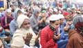 Biswa Ijtema: Akheri Munajat of Zubair's followers held
