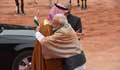 India's Modi breaks protocol to welcome Saudi's crown prince