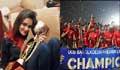 শিরোপা জিতে স্রষ্টাকে ধন্যবাদ জানিয়ে ফেসবুকে নাফিসা কামালের উচ্ছ্বাস