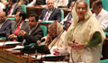 Govt has nothing to do with Jamaat ban, Hasina tells JS