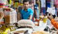 Grocers cash in on virus fear
