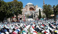 Hagia Sophia Mosque sees 1st prayers in 86 years