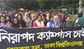 Girls rally for safe campus at DU