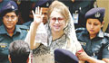 Boil develops on Khaleda Zia's leg; she skips hearing