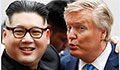Kim and Trump lookalikes draw the crowds in Hanoi
