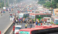 Commuters suffer as no bus runs in various dists