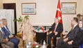 Khaleda Zia meets Turkish PM