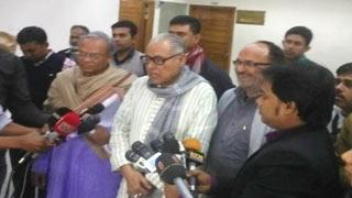 খালেদা জিয়া-তারেক রহমানকে ছাড়া বিএনপি নির্বাচনে যাবে না : ইসিতে প্রতিনিধি দল