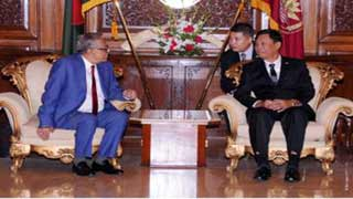 রাষ্ট্রপতির সঙ্গে মিয়ানমারের স্বরাষ্ট্রমন্ত্রীর সাক্ষাৎ