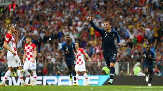 ক্রোয়েশিয়ার বিপক্ষে ৩-১ গোলে এগিয়ে ফ্রান্স
