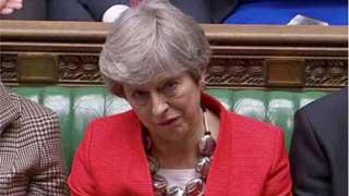 British MPs reject Brexit deal again