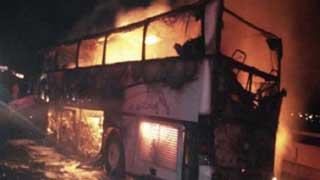Bus near Saudi holy city of Mecca crashes, killing 35 people