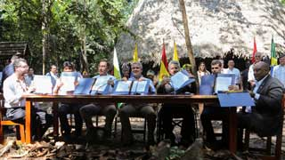 7 Amazon countries sign forest pact