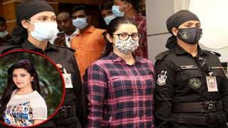 Dhaka court again places Pori Moni on one-day remand