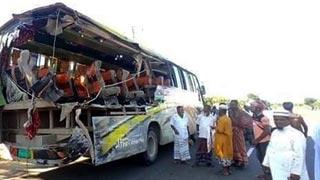 At least six dead as bus rear-ends truck in Mymensingh
