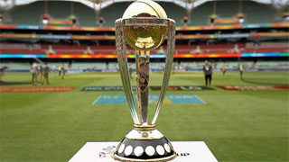 Cricket World Cup trophy to arrive in Bangladesh Today