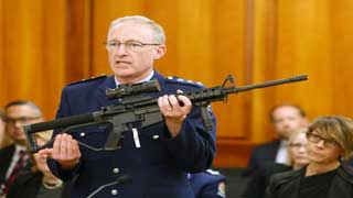 NZ lawmakers pass initial vote for gun controls