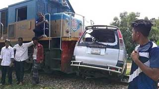 3 dead, at least 5 injured as train hits microbus in Moulvibazar
