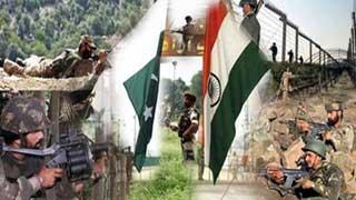 উচ্চ সতর্ক অবস্থায় জবাব দিতে প্রস্তুত ভারত-পাকিস্তানের সেনাবাহিনী