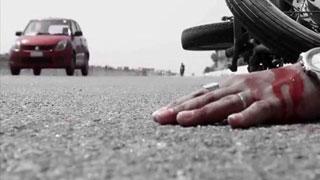 খিলগাঁওয়ে সড়ক দুর্ঘটনায় স্ত্রী নিহত, স্বামী আহত