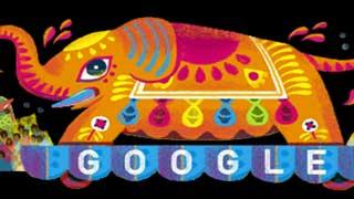 বাংলা নববর্ষে গুগলের ডুডল