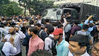 অচল ঢাকা, শিক্ষার্থীদের দখলে রাজপথ
