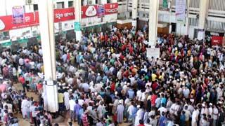 সার্ভার সমস্যা, কমলাপুরে ঈদের টিকেট বিক্রি বন্ধ