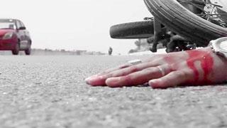 মোটরসাইকেলে ট্রাকের ধাক্কা, দুই শিক্ষক নিহত