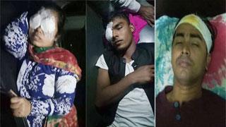 সিরাজগঞ্জে পুলিশের গুলিতে বিএনপি প্রার্থী রুমানা মাহমুদসহ আহত ২০, স্প্লিন্টার বিদ্ধ হয়েছে মেরিনার দুই চোখে