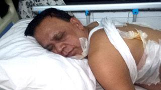 ওসির গুলিতে আহত বিএনপি নেতা মাহবুব উদ্দিন