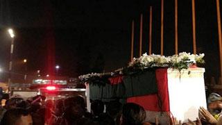সৈয়দ আশরাফকে শেষবার দেখতে বেইলি রোডে মানুষের ভিড়