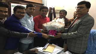 কবি নজরুল সরকারি কলেজ অধ্যক্ষের সাথে সাংবাদিকদের মতবিনিময়