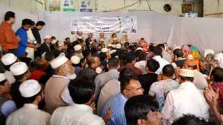 কোকোর মৃত্যুবার্ষিকীতে গুলশানে বিএনপি নেতাদের দোয়া মাহফিল
