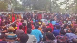 Protesters call indefinite strike at DU, demand fresh polls