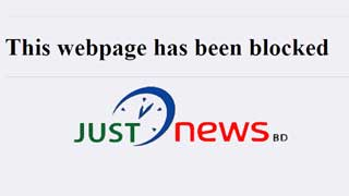 Authority blocks Just News again!