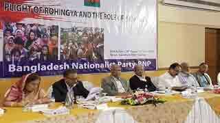 নতজানু পররাষ্ট্র নীতির কারণে রোহিঙ্গা সমস্যার সমাধান হচ্ছে না: মির্জা আলমগীর