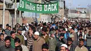 সরকারি তথ্যেই কাশ্মীরে প্রতিদিন ২০টি বিক্ষোভের ঘটনা