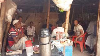 করোনাভাইরাস আতঙ্কের মধ্যে রোহিঙ্গা ক্যাম্পে জীবনযাত্রা স্বাভাবিক