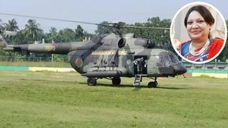 Corona-infected MP Salma Chy Ruma flown to Dhaka