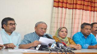 খালেদা জিয়ার অসুস্থতা নিয়ে তামাশা করছে সরকার : রিজভী