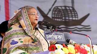 ডিসেম্বরে নির্বাচন, নৌকায় ভোট চাই : প্রধানমন্ত্রী