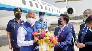 Indian Foreign Minister Jaishankar arrives in Dhaka