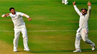 দ্বিতীয় টেস্টে ১০ উইকেটে জয় পেল ভারত
