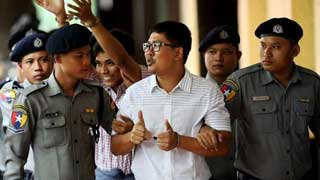 Myanmar's top court rejects final appeal by jailed Reuters journos